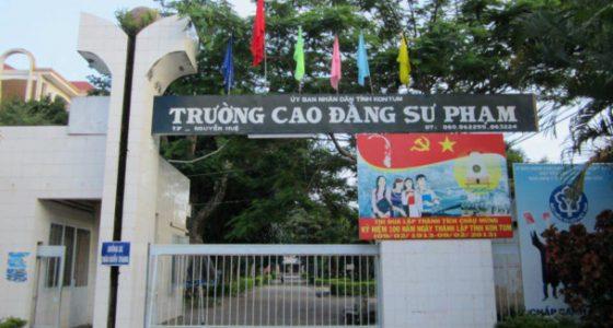 Phòng tài vụ trường Cao đẳng Sư phạm Kontom