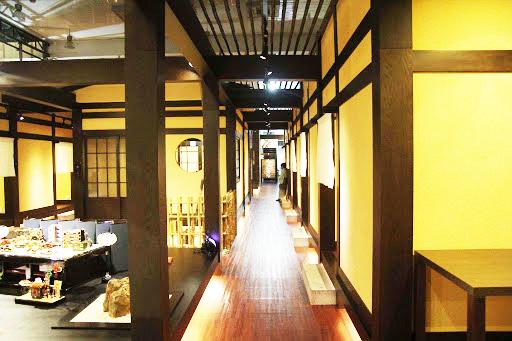 Mẫu thiết kế nội thất nhà hàng Nhật độc đáo