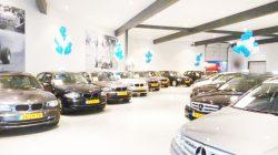 Khu vực trưng bày ô tô