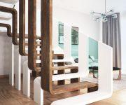 18 ý tưởng cầu thang đẹp cho gác lửng