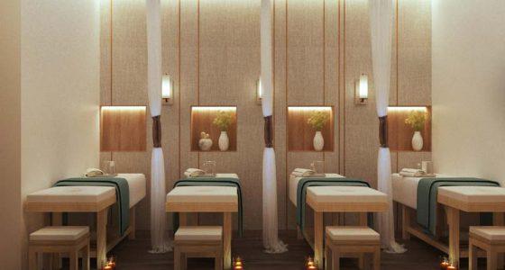 Sử dụng chất liệu gỗ cho nội thất spa mang đến vẻ đẹp tự nhiên và tinh tế hơn cho spa.