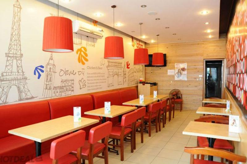 thiết kế nhà hàng ăn uống
