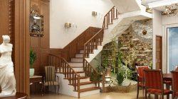 Cầu thang hợp phong thuỷ cho nhà ở