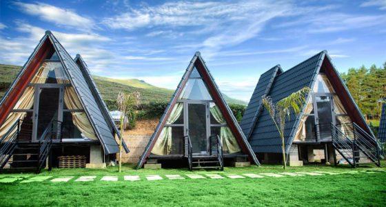 Ưu điểm của homestay tam giác là chi phí thi công thấp nhưng lại mang tính thẩm mỹ cao.