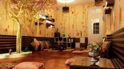 Sàn gỗ là chi tiết thiết kế được nhiều người ưa chuộng và sử dụng nhiều trong thiết kế nhà ở, quán cafe hay thiết kế phòng ăn VIP nhà hàng.