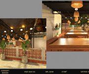 Tiêu chuẩn thiết kế nhà hàng ăn uống đẹp và thu hút khách hàng