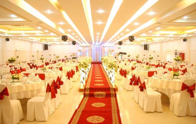 đảm bảo tính riêng tư trong nhà hàng tiệc cưới