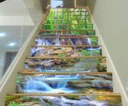 """12 mẫu cầu thang 3D ấn tượng khiến khách đến nhà """"không thể rời mắt"""""""