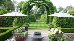 Thiết kế sân vườn kiểu pháp sang trọng