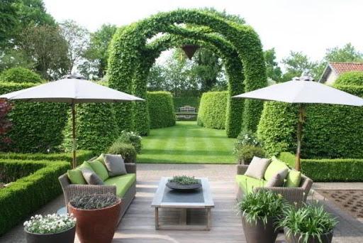 Phong cách thiết kế sân vườn kiểu Pháp