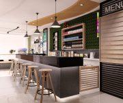 Lưu ý quan trọng cần nắm khi thiết kế quầy bar nhà hàng