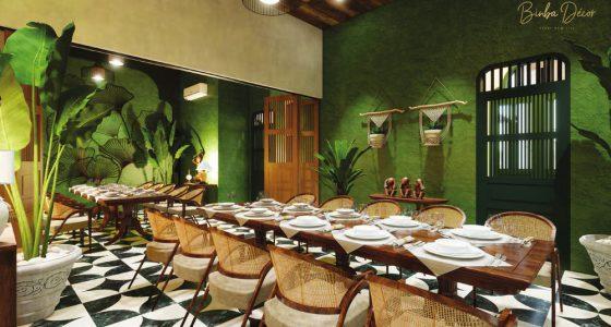 Bạn kinh doanh món ăn vùng miền nào thì phong cách thiết kế nhà hàng cũng biến tấu cho phù hợp với vùng miền đó.
